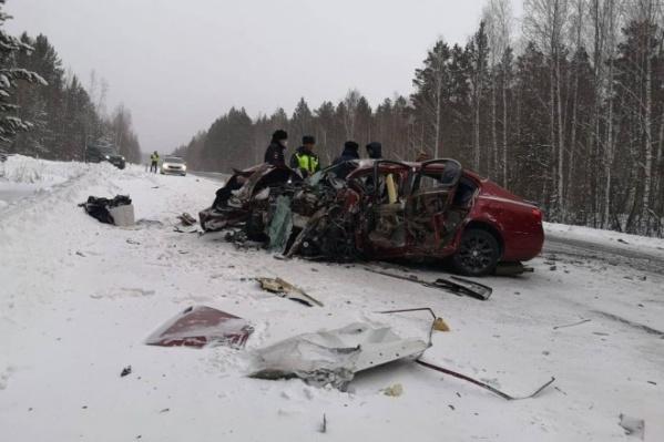Авария произошла на трассе «Вилюй»
