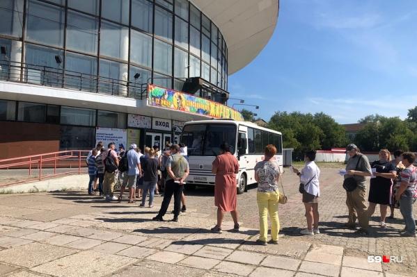 Сейчас в Перми работает один пункт вакцинации — у цирка