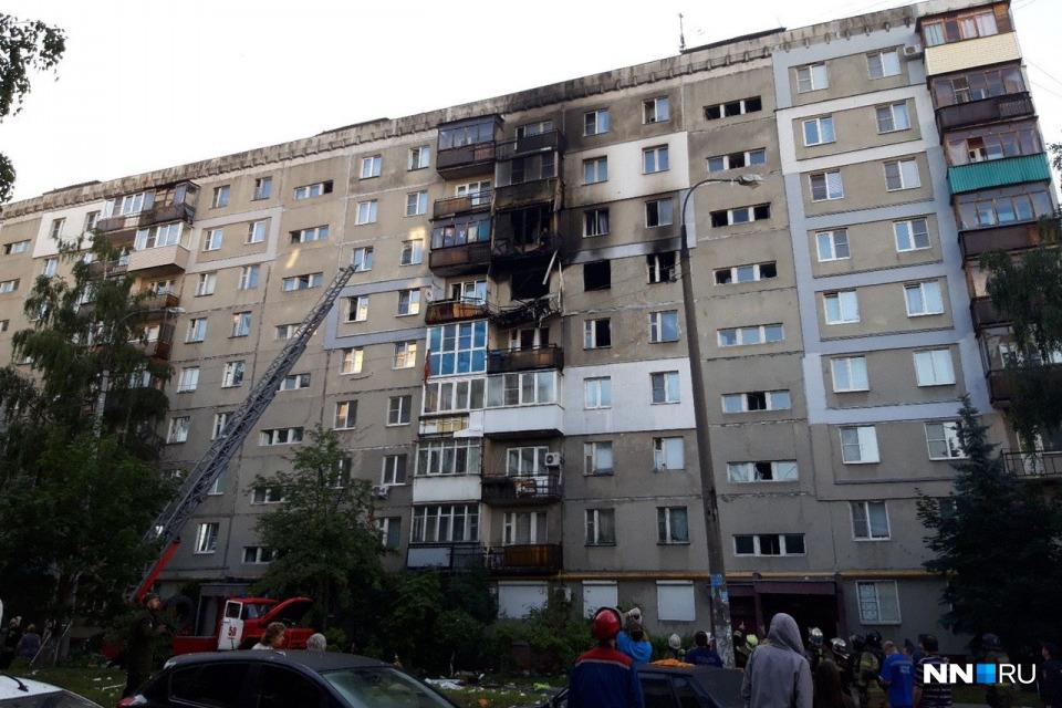 Несмотря на то, что взрыв произошел только в одной квартире, серьезно пострадала вся конструкция дома — жить в нем больше нельзя