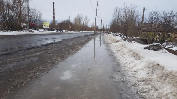 Лужи оставят? Архангелогородец показал, что не так с проектом ремонта улицы по федеральной программе