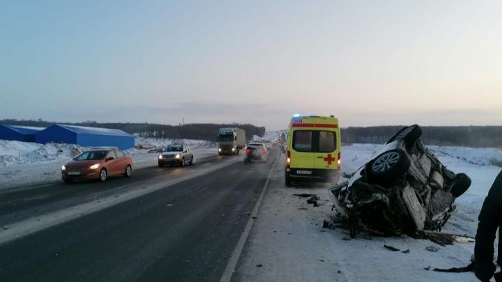 Появились подробности смертельного ДТП с Lexus и грузовиком под Уфой