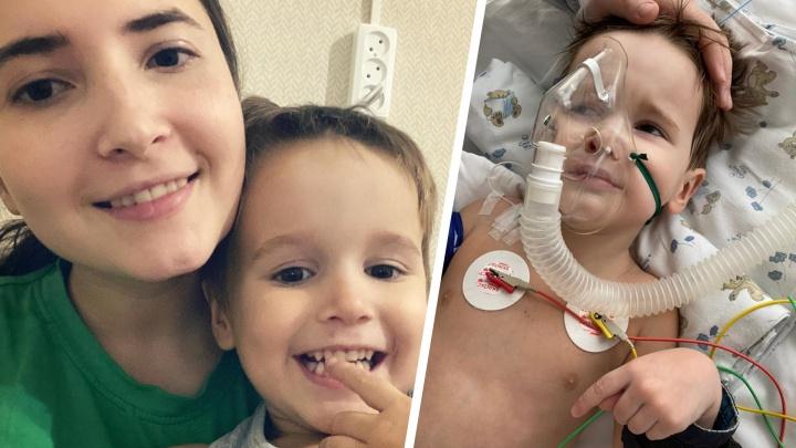 «Сын будто бы каменеет»: маленький мальчик впал в кому из-за жутких спазмов и неизвестной инфекции