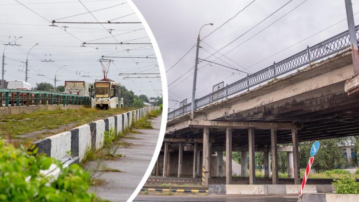 Ярославль может остаться без трамваев из-за состояния путепровода