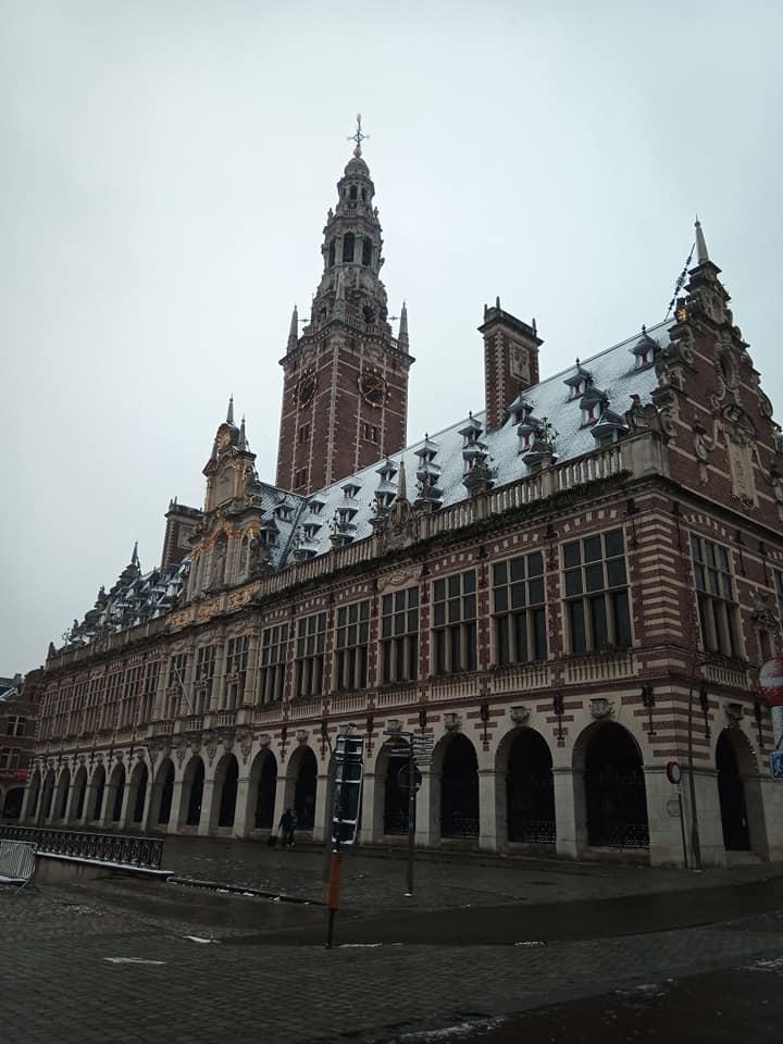 Развлекаться в Бельгии (на фото Левен) сейчас можно походами в магазин, музеи и библиотеки