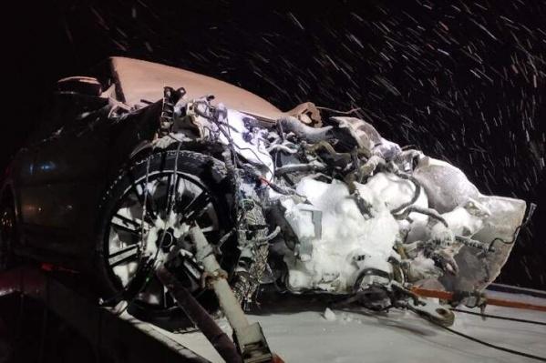 Водитель Land Rover пострадала, но сумела скрыться с места ДТП
