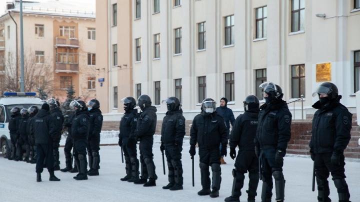 В Тюмени появились объявления о наборе людей для работы в столичном ОМОНе