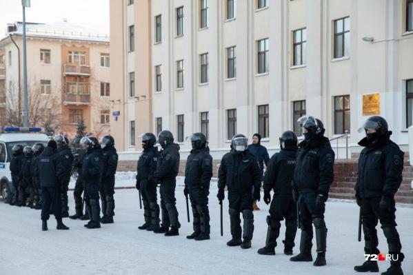 Ищут людей, готовых охранять общественный порядок в Москве