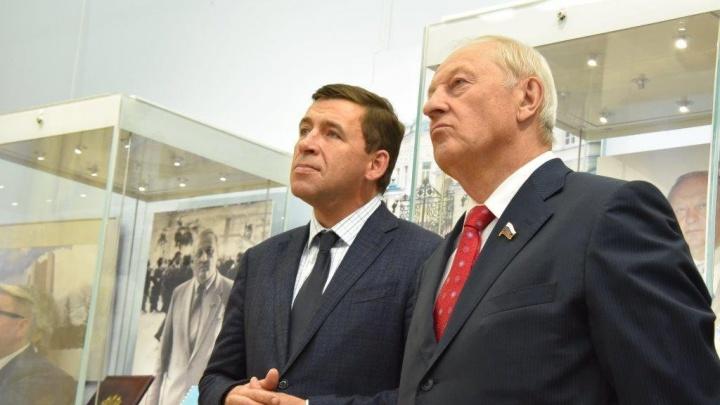 Зачем губернатор ввел режим ЧС в Свердловской области? Объясняет Эдуард Россель