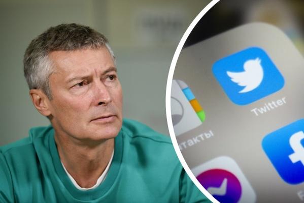 Евгений Ройзман известен тем, что в Twitter порой отвечает матом или просто весьма резко