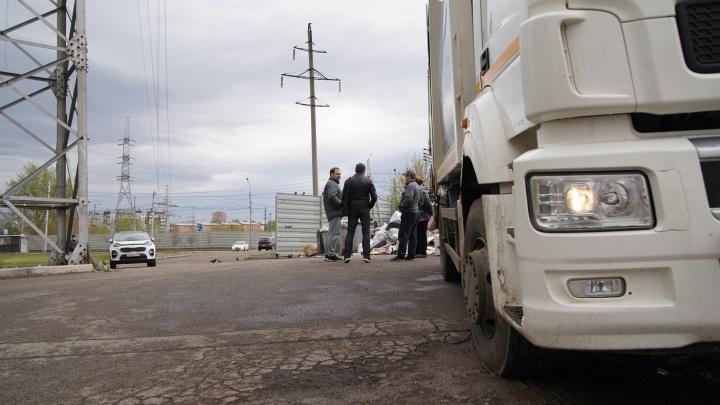 Левобережный региональный оператор ликвидировал две свалки в Октябрьском районе
