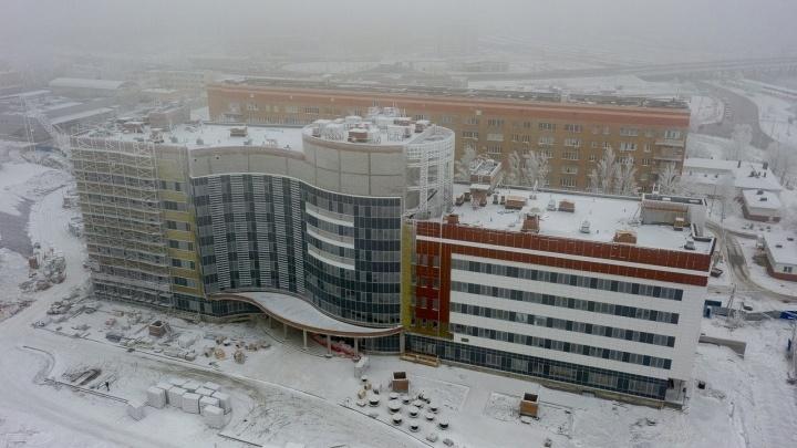 В онкоцентре Волгограда построят еще один новый корпус за 400 миллионов рублей