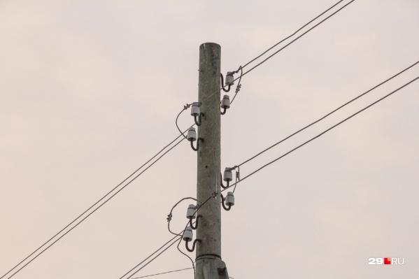 Электроэнергию подключат минимум через час