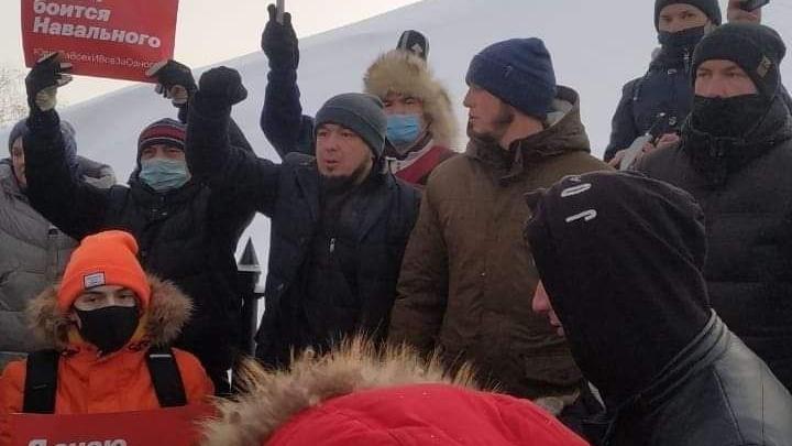 В Уфе задержали сторонника Навального