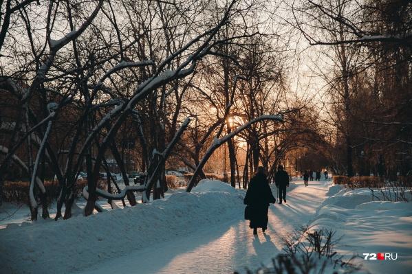 В ближайшее время в Тюмени будет очень холодно