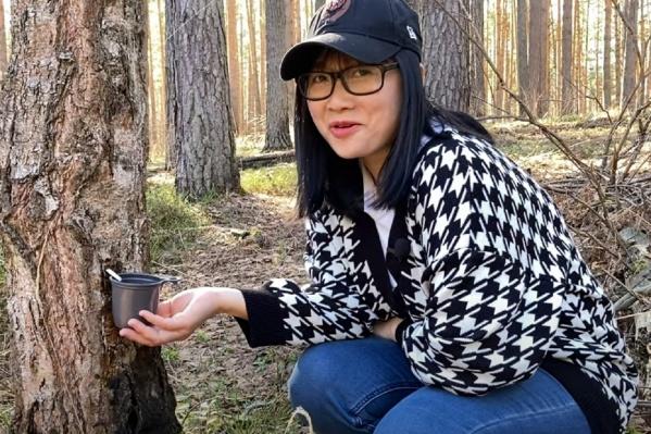 Вьетнамка Йен Хоанг живет в Перми. Здесь она решила попробовать березовый сок