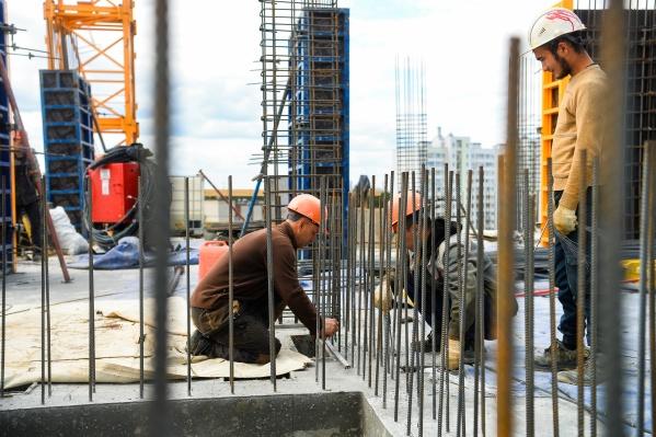 В Екатеринбурге активно застраиваются спальные районы