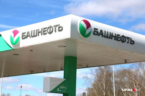 На заправках «Башнефть» стоимость бензина повысилась на 30 копеек