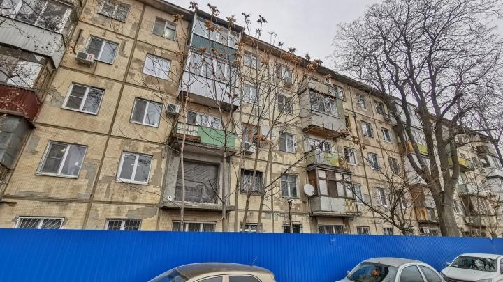 Глава Пролетарского района пообещал, что вместо дома в Кривошлыковском не вырастет высотка