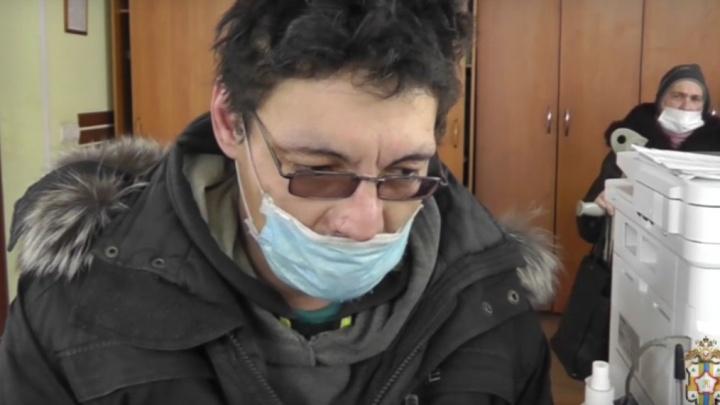Омича, который распилил щенка в прямом эфире, выпустили под подписку о невыезде