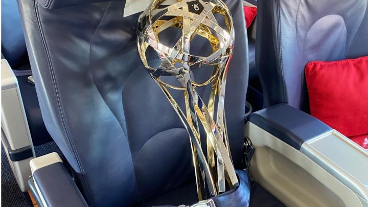 Чемпионский кубок «Зенита» прилетит в Нижний Новгород