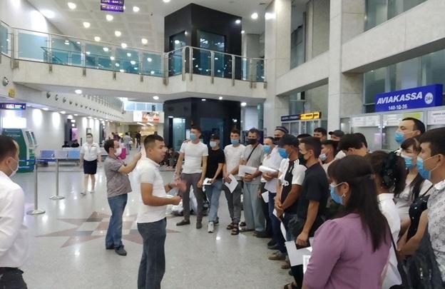 Через Самару в Краснодар: жителям Узбекистана помогли легально выехать на заработки