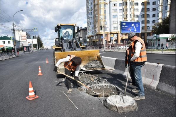 В планах работ по ремонту дорог в Новосибирске на текущий год  116 объектов
