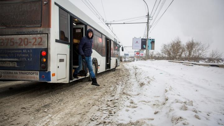 В Новосибирске вводят «Сетевую поездку» на пяти маршрутах. Публикуем список автобусов