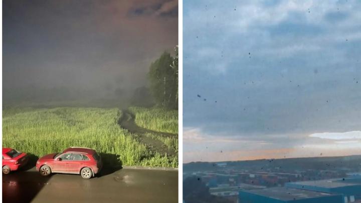 «Дышать нечем»: новосибирцы продолжают страдать из-за пожара на свалке возле Хилокского рынка