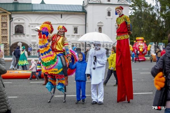 В этом году День города в Ярославле многим показался грустным