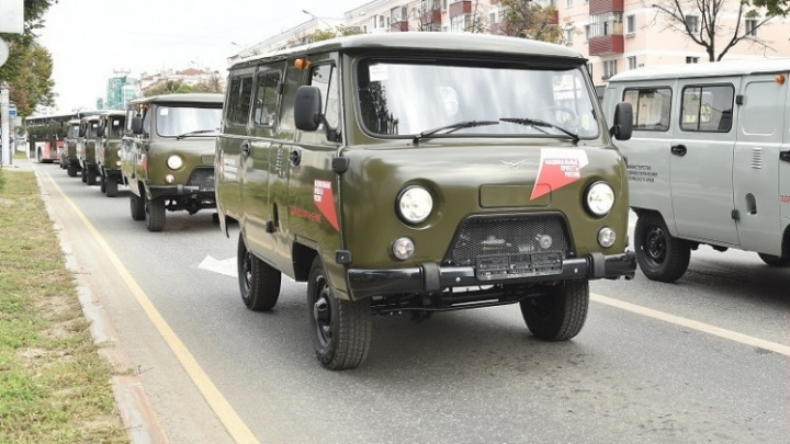 Больницы Прикамья получили 36 новых автомобилей для оказания помощи пациентам отдаленных территорий