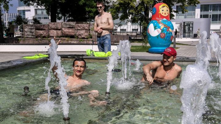 «Много не погуляешь — жарко»: как живет Нижний Новгород в +33 °С