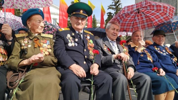 В Зауралье ветеранам ВОВ пообещали выплатить по 10 тысяч рублей