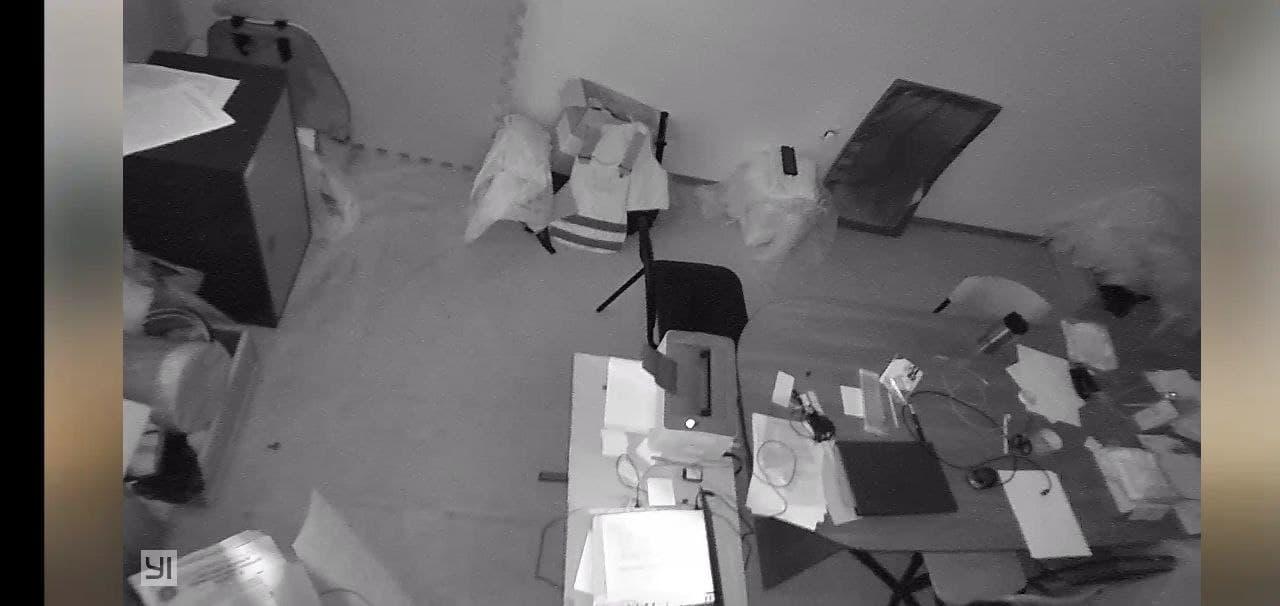 фото с камеры при выключенном свете