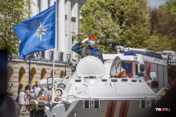 В День Победы в Ярославле будет облачно и ветрено