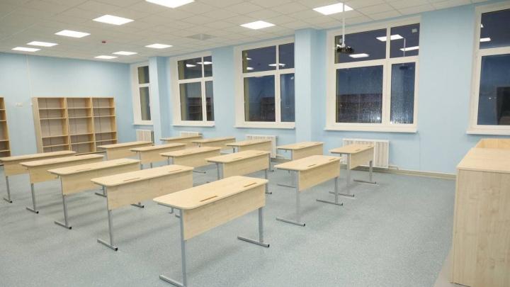 В Новой Самаре достроили школу