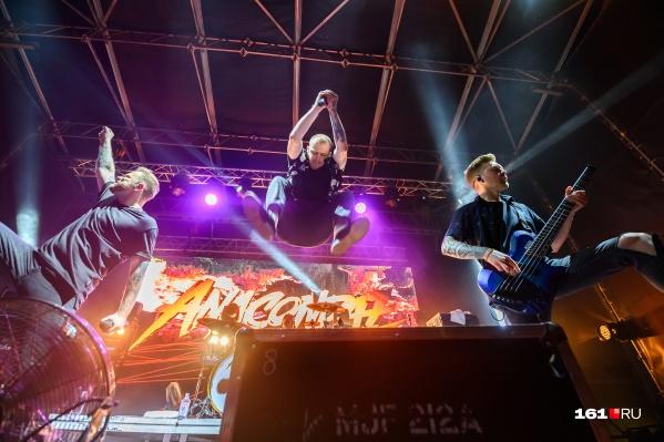 В Ростове это был второй концерт Anacondaz за последние три месяца