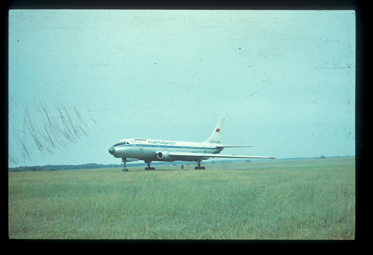 Посадка Ту-104А