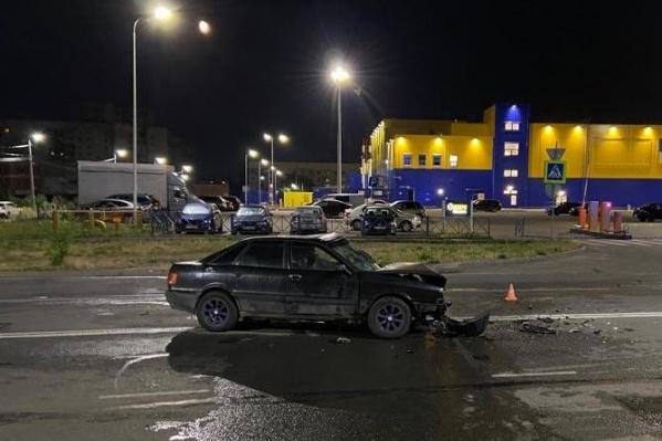 ДТП произошло на улице Панина в Ярославле