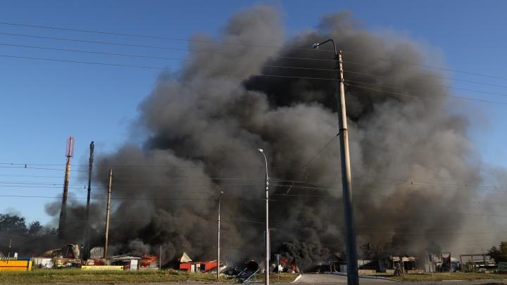 СК возбудил уголовное дело из-за пожара на газозаправочной станции в Новосибирске