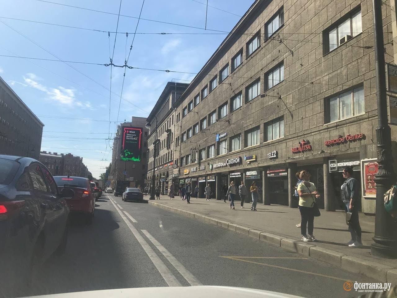 И ещё одно фото с Петроградской стороны