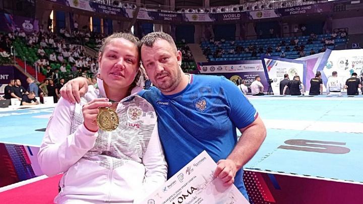 Пермячка в четвертый раз стала чемпионом мира по рукопашному бою