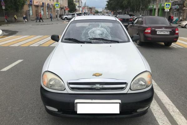 ДТП произошло на улице Куйбышева