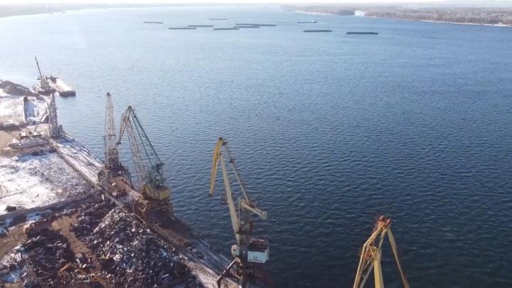 В мэрии Октябрьска рассказали, почему переносить речной порт удобнее всего в этот город