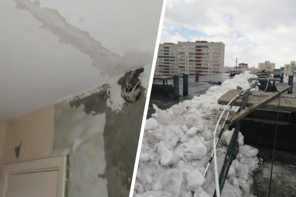 Сейчас, уверяют в УК и строительной компании, снег убран