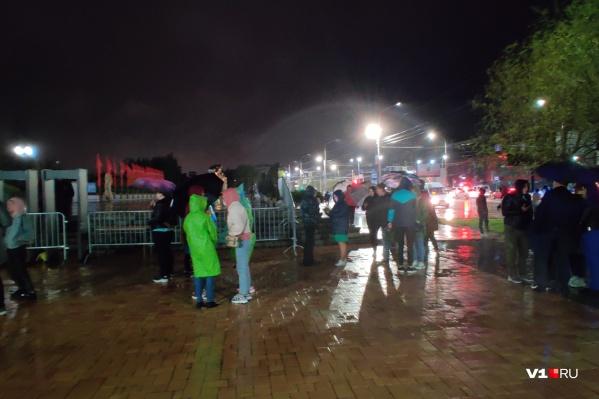 Общественный транспорт не останавливается ни на Мамаевом кургане, ни на Центральном стадионе