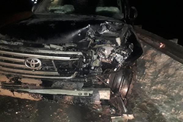 По информации силовиков, «Тойота» ехала по главной дороге