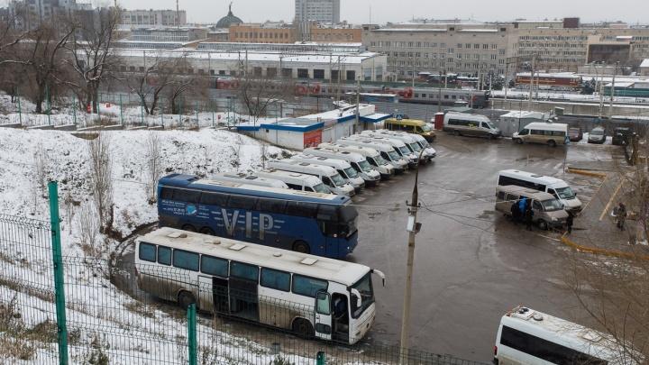 В Волгоградской области восстановлено движение автобусов