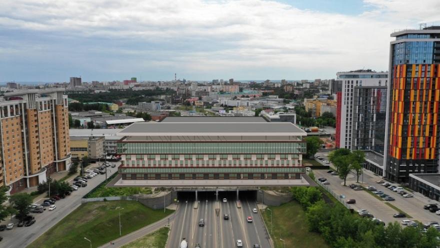 """В мэрии Уфы рассказали, когда построят Ледовый дворец за <nobr class=""""_"""">3 миллиарда</nobr> рублей"""
