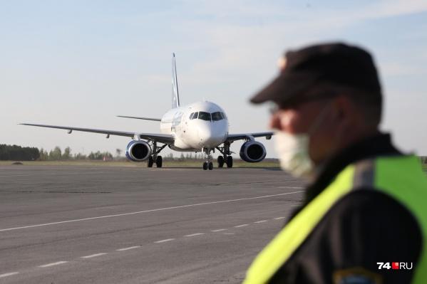 Международное авиасообщение прервалось в марте 2020 года
