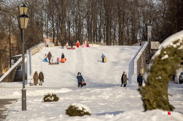 В Ярославле полно мест для отдыха с детьми, стоит только оглянуться